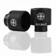 Frictionfit drip tip (Black)