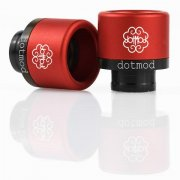 Frictionfit drip tip (Red)