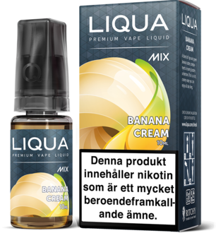 Banana Cream by LIQUA Mix Line