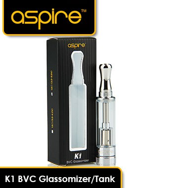 K1 BVC Glassomizer/Tank - 1.5ml