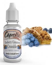 Blueberry Cinnamon Crumble Flavor