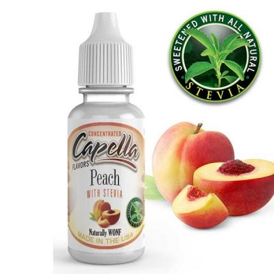 Peach with Stevia By Capella