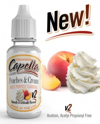 Peaches and Cream v2 Flavor